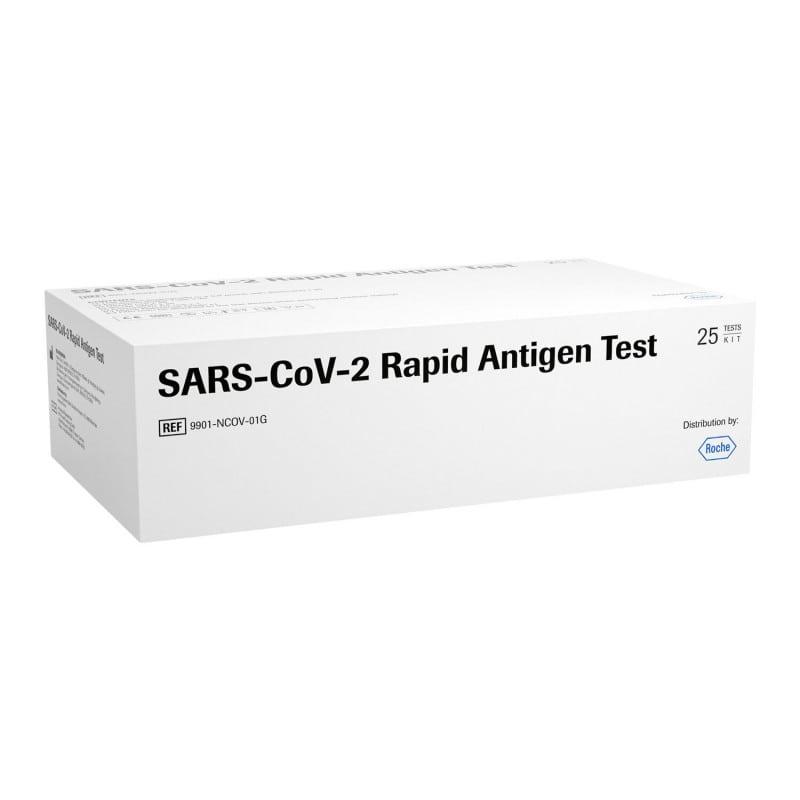 Prueba de antígenos del SARS-CoV-2 de Roche para la detección de pacientes con infección aguda de COVID-19