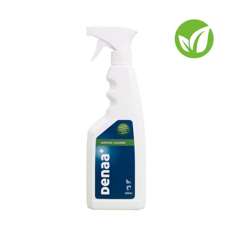 Limpiador de superficie DENAA+ con microorganismos probióticos. Disponible en diferentes tamaños