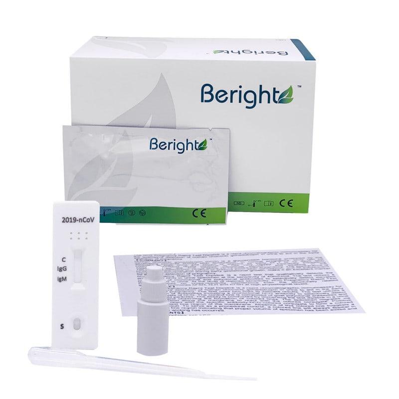 Test rápido serológico Covid-19 de Beright para la detección de anticuerpos IgG/IgM del SARS-CoV-2