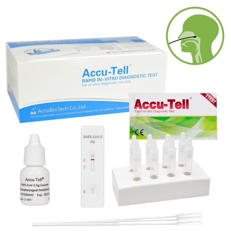 ACCU-TELL® SARS-CoV-2 Antigen-Schnelltest zum Nachweis einer akuten SARS-CoV-2-Infektion