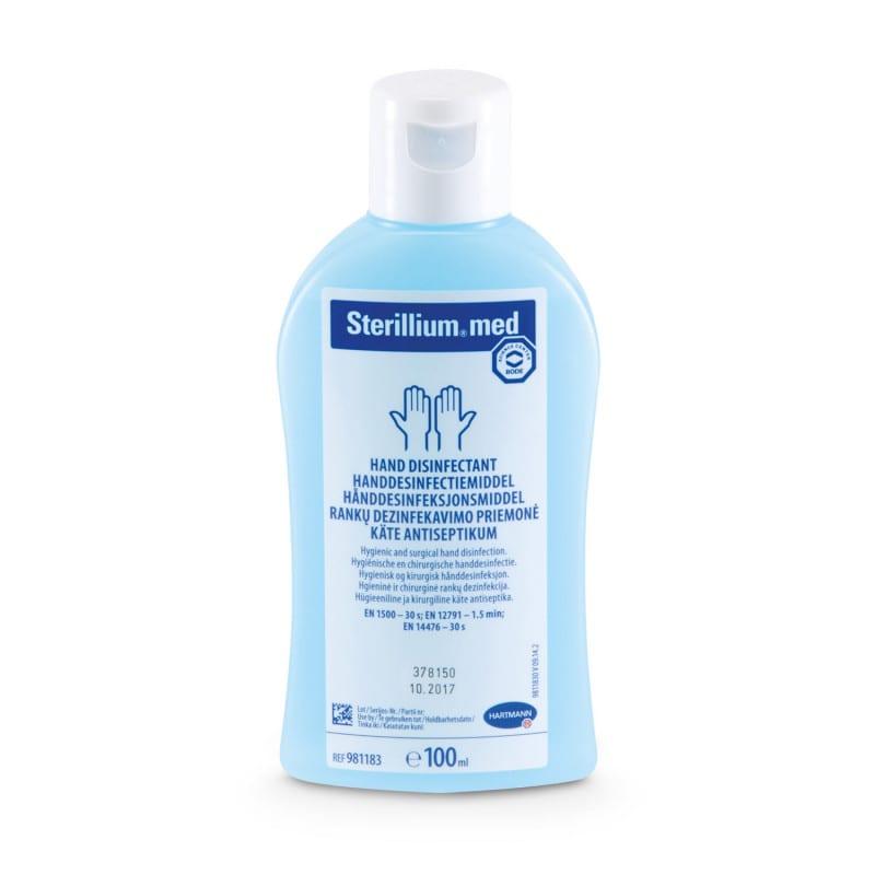 Sterillium med hand disinfectant zonder geur- of kleurstoffen uitermate geschikt voor gevoelige huid