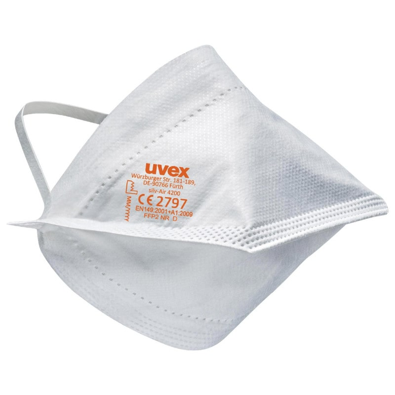 Masque FFP2 uvex silv-Air lite, conforme à la norme EN149:2001 + A1:2009