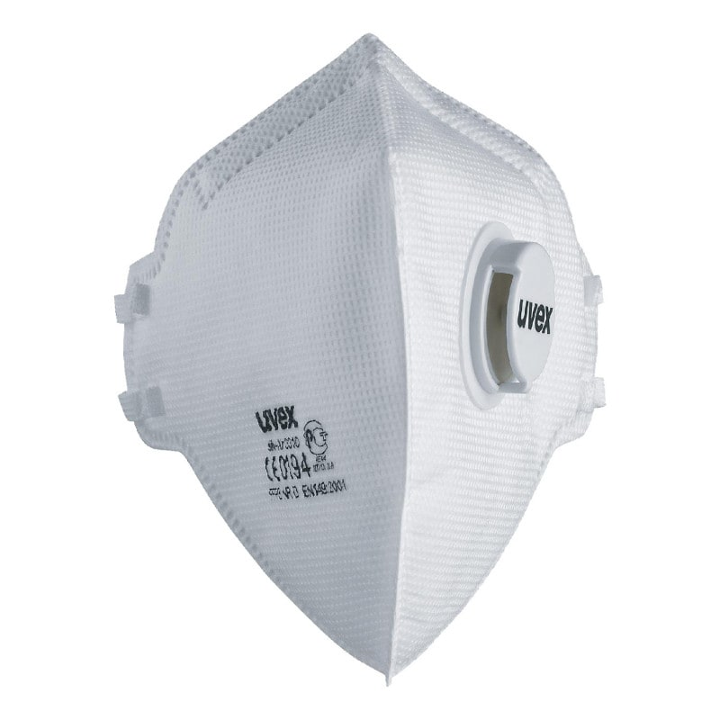 uvex silv-Air classic 3310 FFP3 Mask With exhalation valve