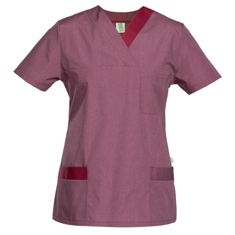 Klasyczna tunika wkładana przez głowę z rozcięciami po bokach i kieszeniami