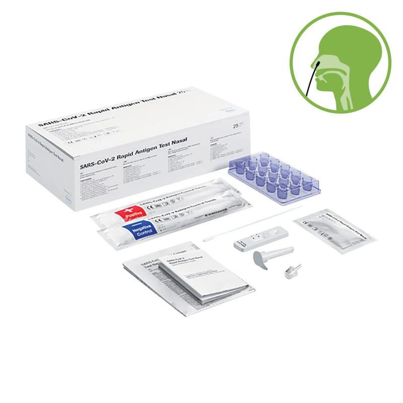 Test antigenico rapido Roche per Covid-19 da utilizzare con i tamponi nasali