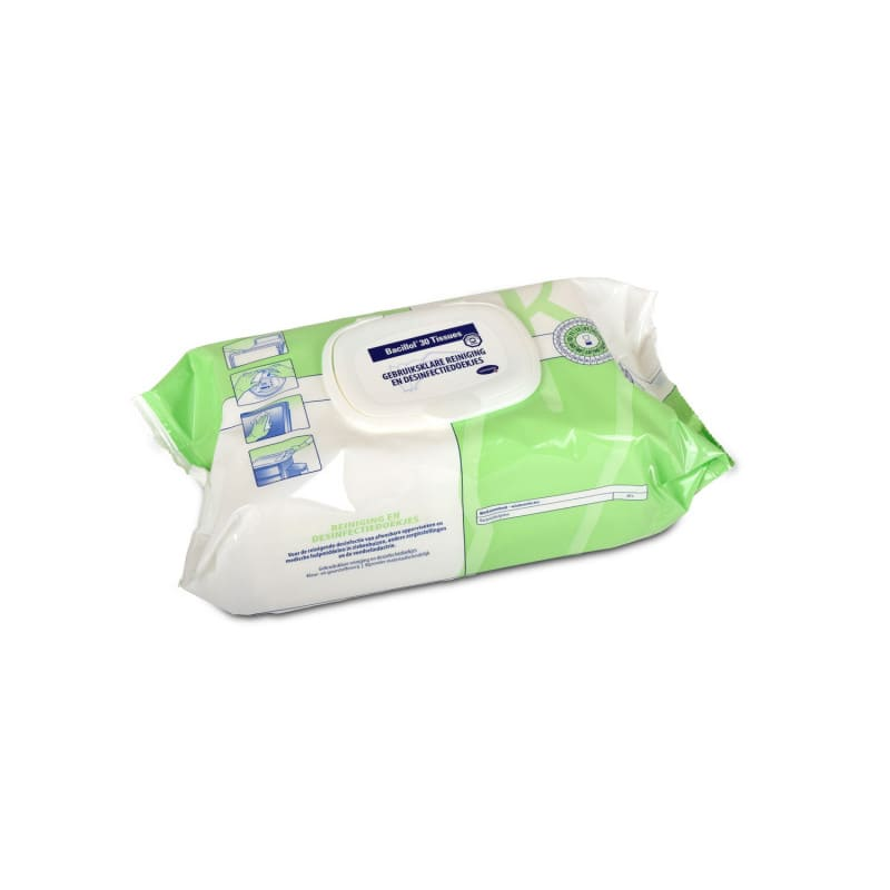 Bacillol 30 reinigings- en desinfectiedoekjes voor de snelle desinfectie van oppervlakken