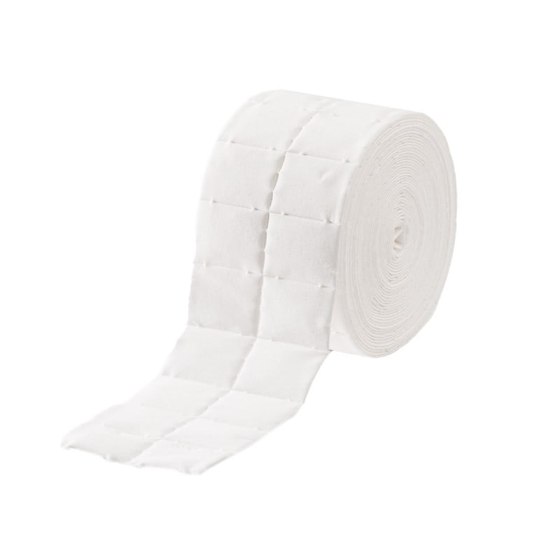 Cellular swabs, 2 rolls of 500 swabs each, in foil pouch