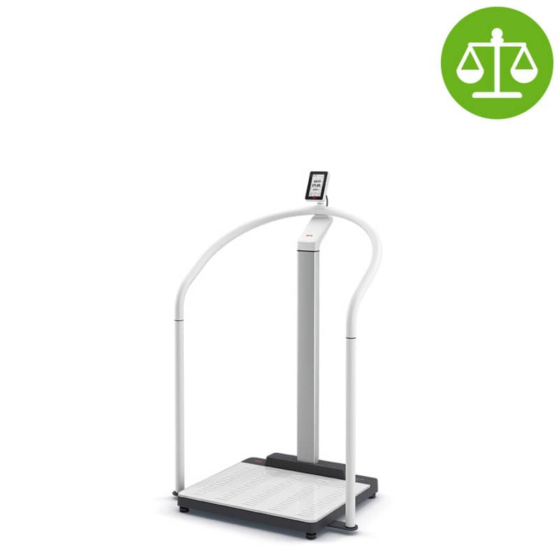 seca 655 Scale-up Handrail Scale for increased patient safety