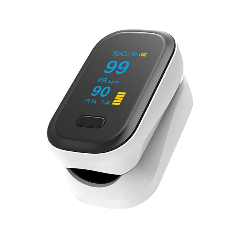 YK-80B Pulse oximeter for measuring blood oxygen, pulse rate and perfusion index