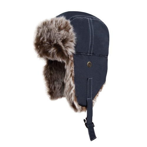 Fur Cap with Ear Flaps