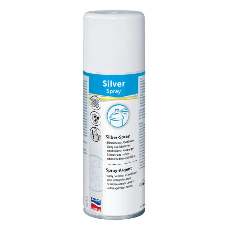 Silberspray als Verbandschutz oder Verbandersatz einsetzbar