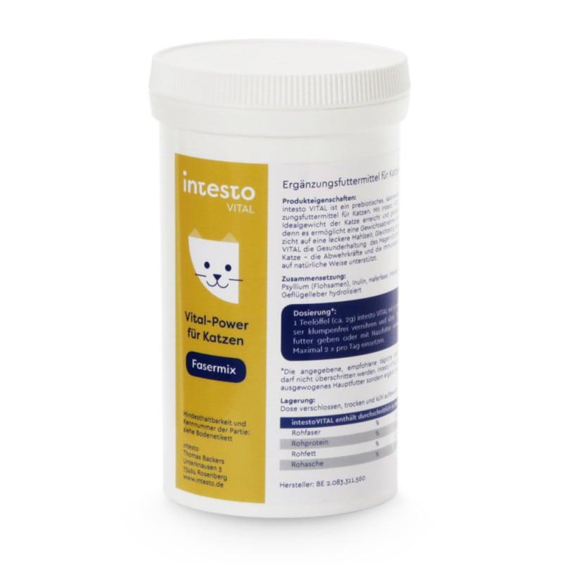intesto feline | Dieetvezelmix voor katten in 125 g bus