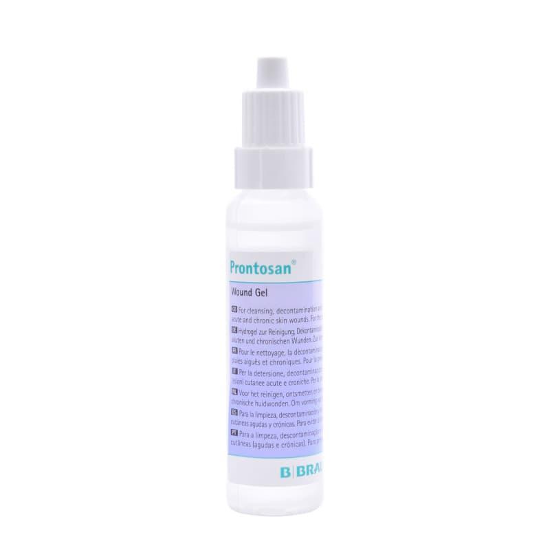 Prontosan® utiliza para el lavado, descontaminación e hidratación de heridas