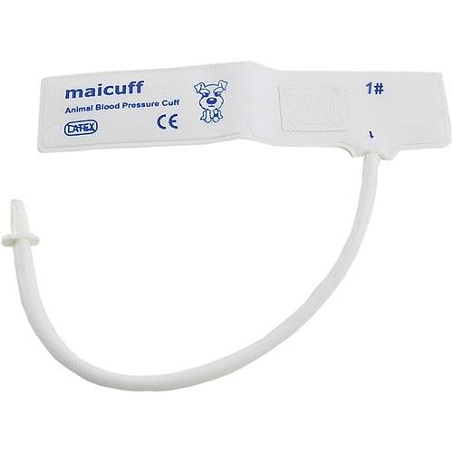 Blutdruckmanschette für Tiere aus PVC (Größe 1-4) oder Polyester (Größe 6-8)