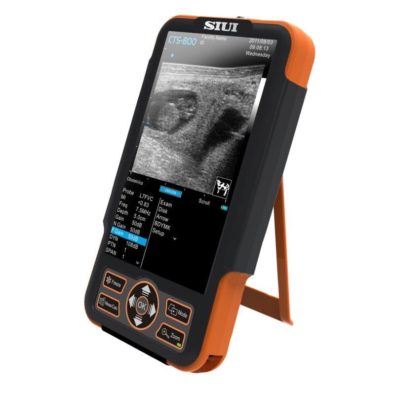 CTS-800 echografie-apparaat voor grote dieren, werkmodi: B, 2B, M, B/M, zoom B
