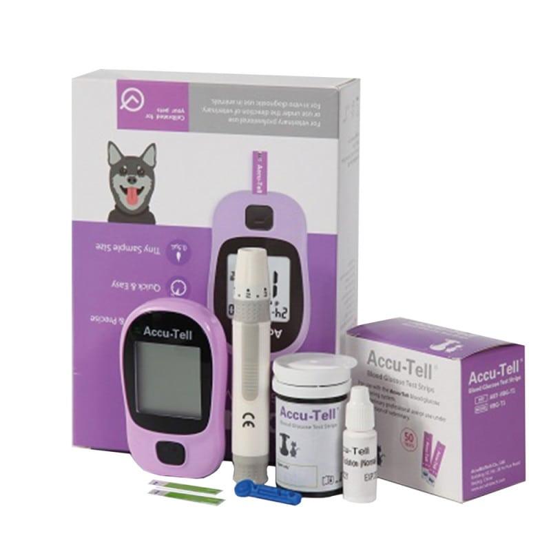 AccuBioTech Vet-Blutzuckermessgerät für Hunde & Katzen
