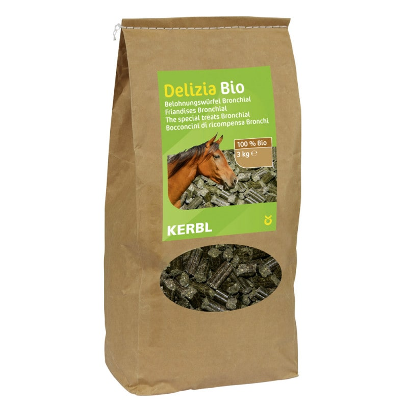 Delizia Bio Bronchial treats made from grade A organic ingredients