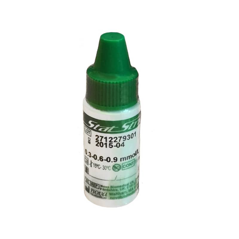 NovaVet control solution for veterinary lactate meter | 4 ml