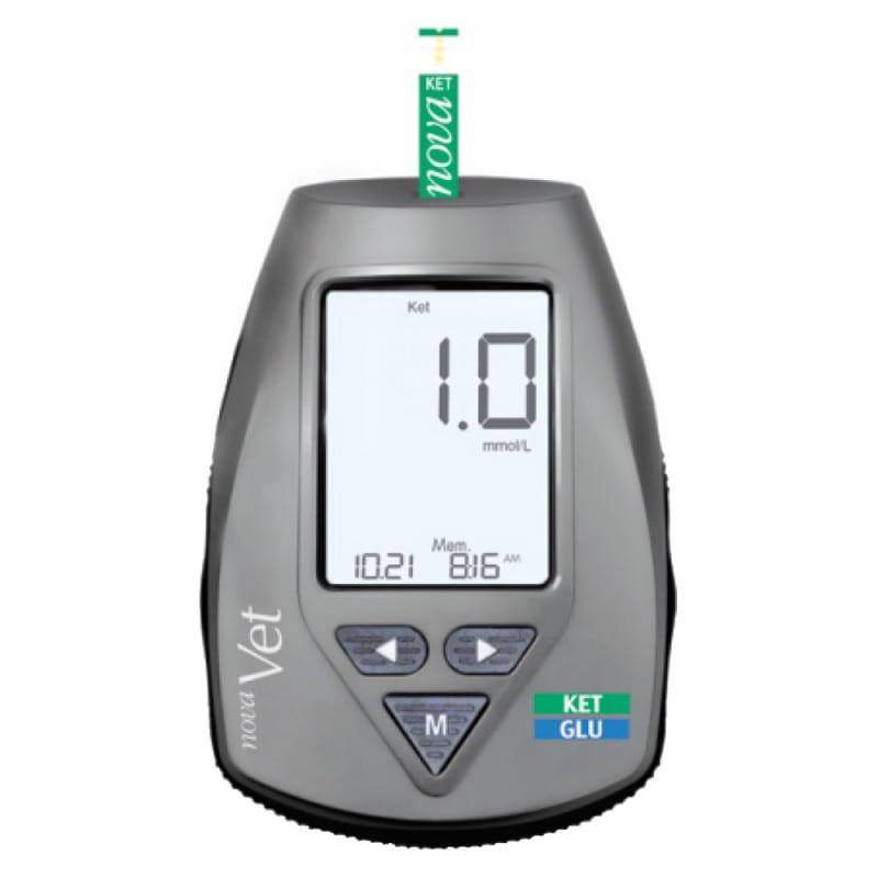 NovaVet Ketonmessgerät für die Tiermedizin