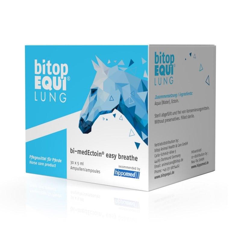 Bitop Equi Lung® solución por inhalación para caballos, ponis y asnos