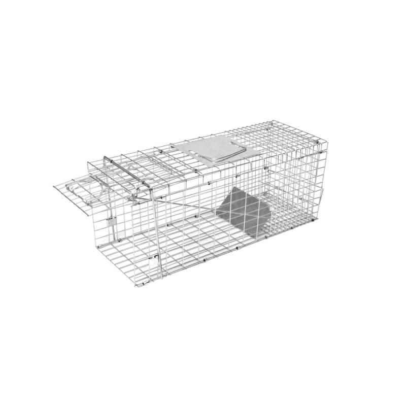 Kastenfalle klappbar 78x28x32 cm mit einem Eingang