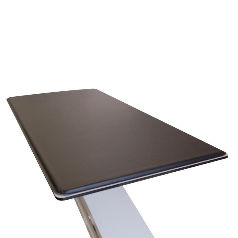 Black table pad without handles