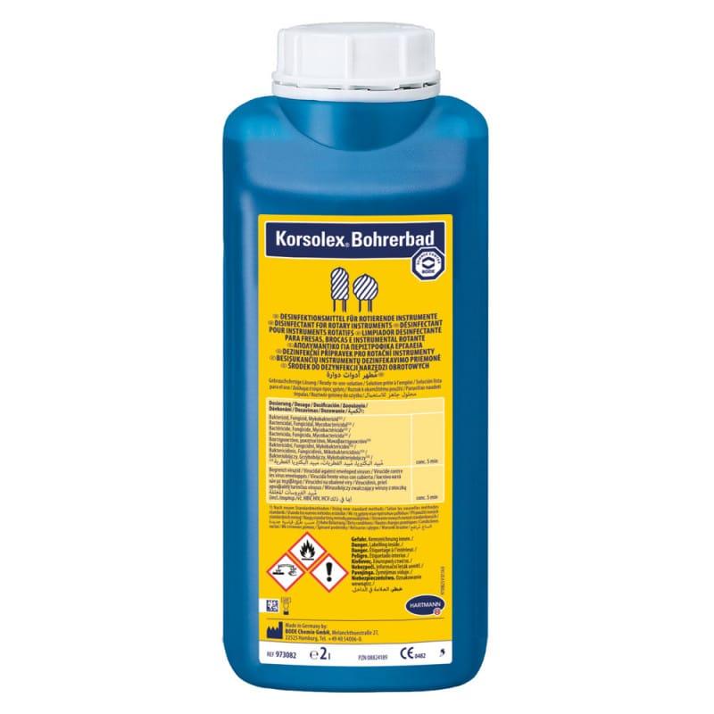 Korsolex Bohrerbad mit extra hoher Materialverträglichkeit