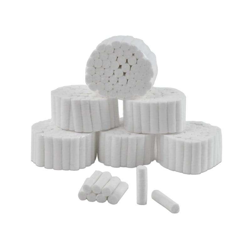 Saugstarke Zahnwatterollen aus 100% Baumwolle