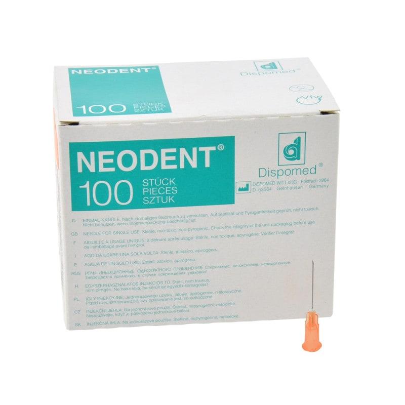 Dentalkanülen Neodent mit hoher Durchflussrate und Nadel aus rostfreiem Edelstahl