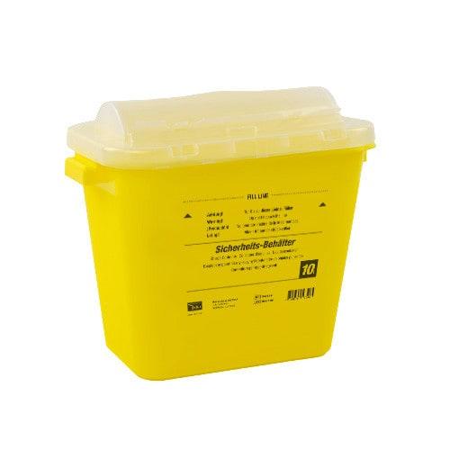10 Liter Abwurfbehälter für Einmalinstrumente