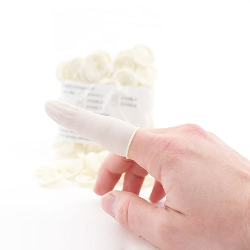 Latex Finger Cots, Non-Sterile