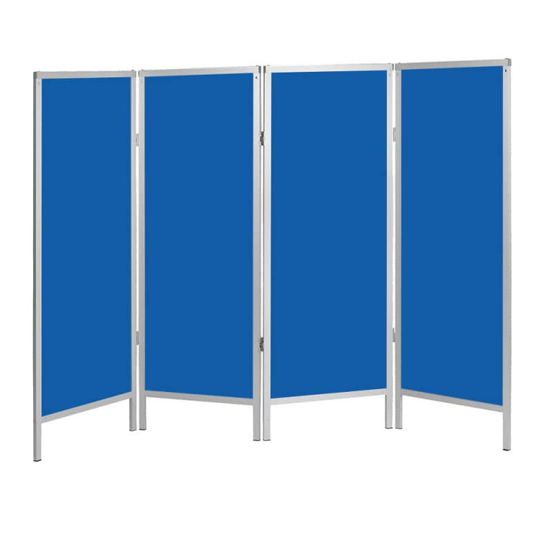 Stationary partition with freely selectable number of panels and colours