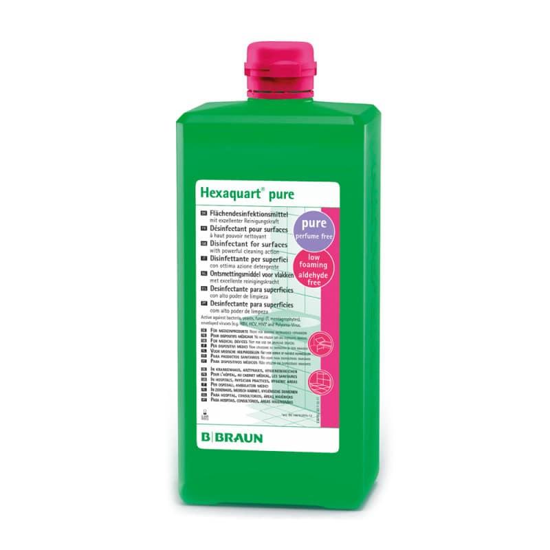 Hexaquart pur concentré nettoyant et désinfectant pour surfaces