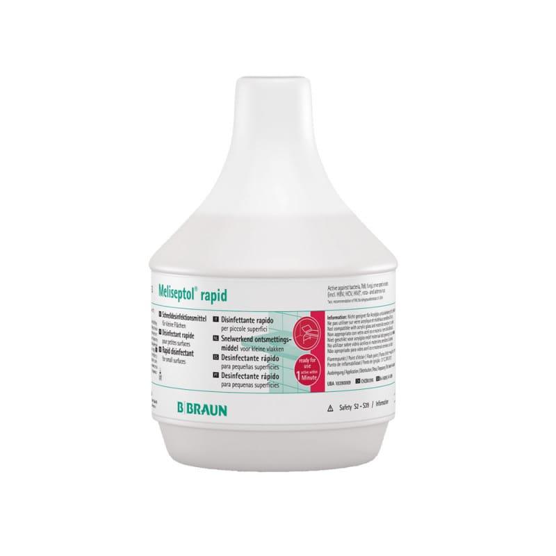 Meliseptol Rapid Flächendesinfektion ist besonders schnell wirksam und aldehydfrei