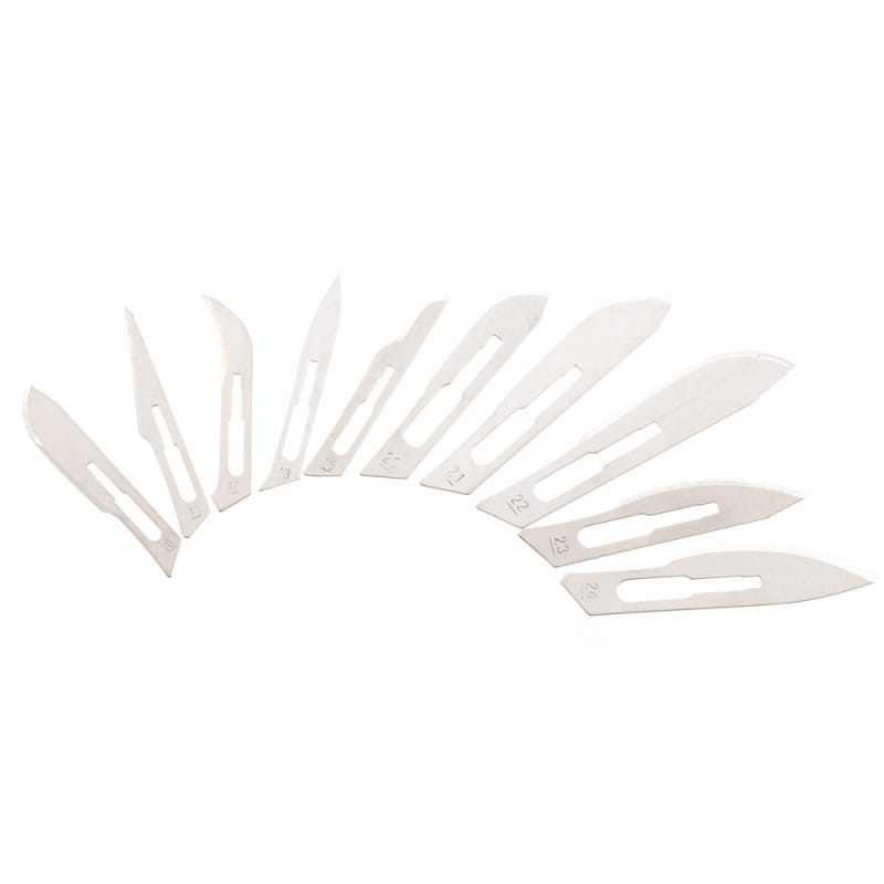 Disposable Scalpel Blades for No. 3 Scalpel Handle
