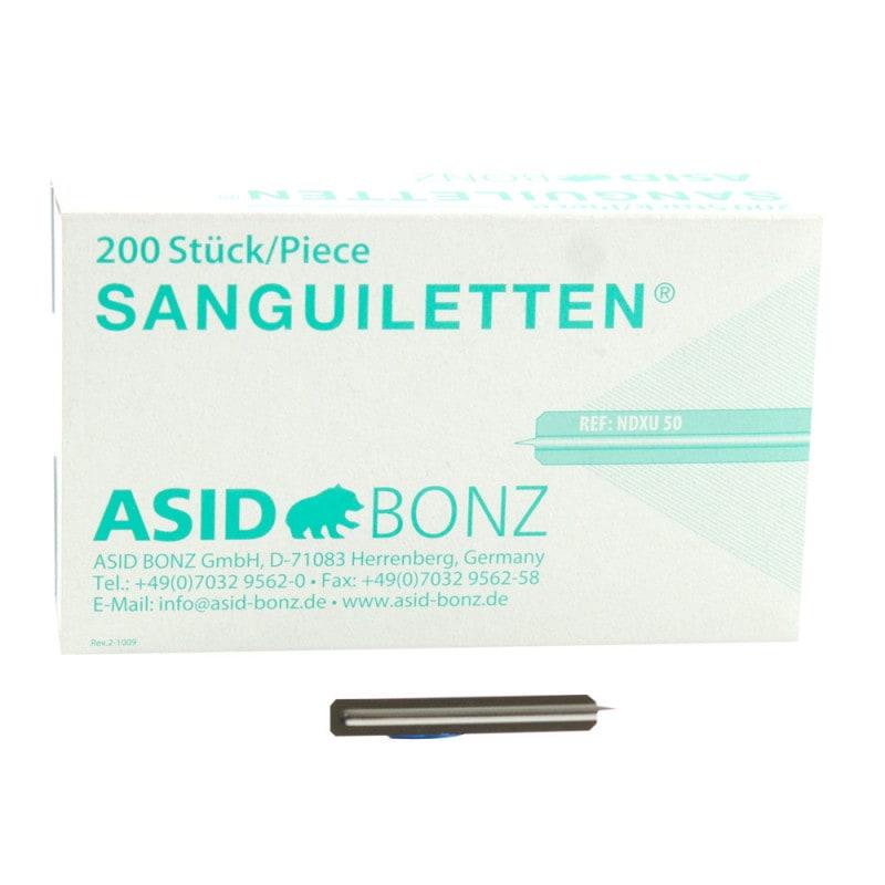 Sanguiletten sterylne lancety, 200 szt.