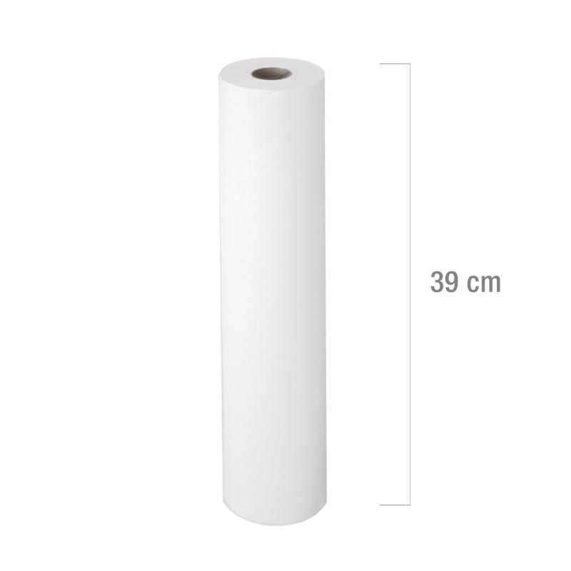 46 metre couch roll | medical crepe suited for dispenser systems