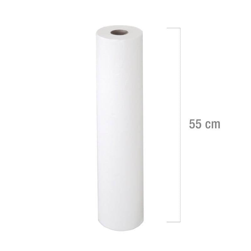 Podkłady higieniczne białe, dostępne w różnych szerokościach