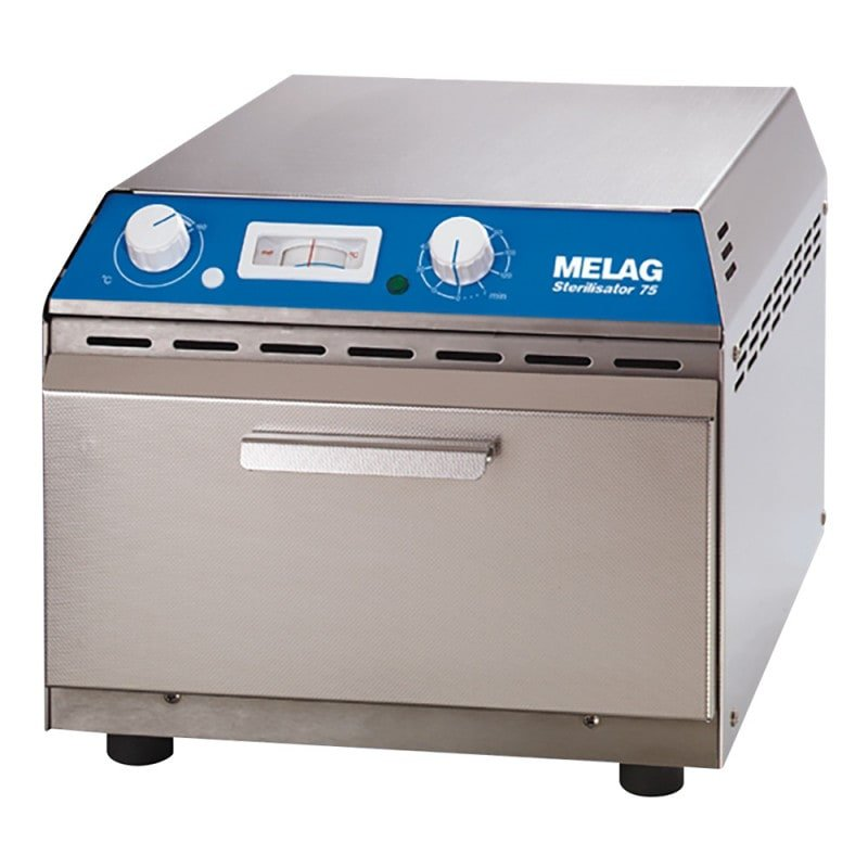 Esterilizador Melag 75 con innovador sistema de ventilación conforme a DIN 58947