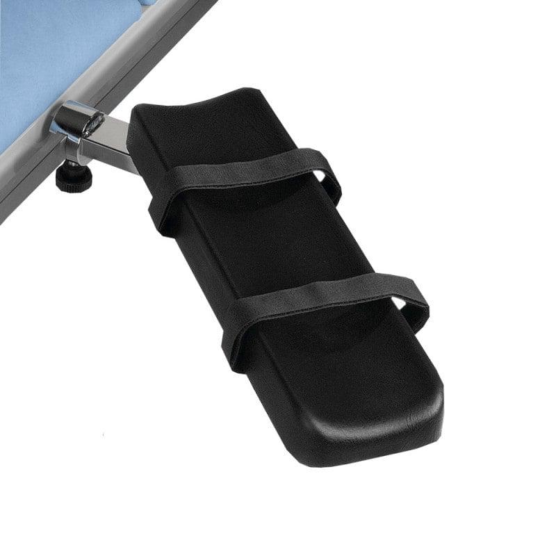Armauflage für OP-Tische aus verchromtem Stahl, 40 x 12 cm (L x B)