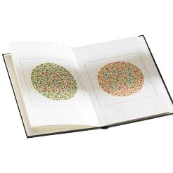 Ishihara Colour Vision Test with 14 pictures