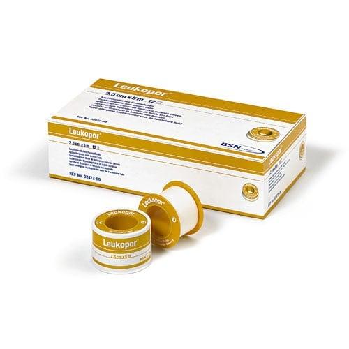 Leukopor Fixierpflaster für äußerst empfindliche Haut, leicht abreißbar