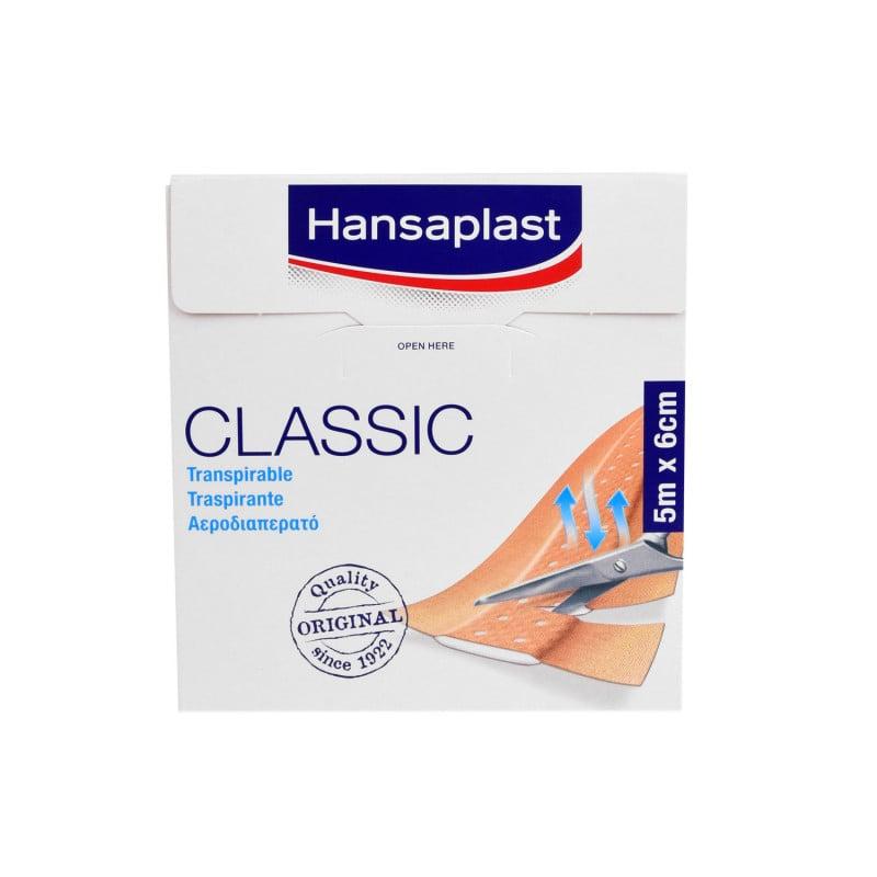 Plaster na rany Hansaplast Classic, dostępny w różnych rozmiarach