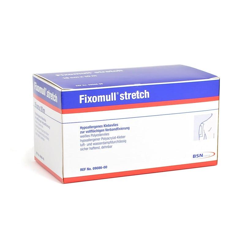 Fixomull stretch Fixiervlies zur Fixierung von Verbänden und Kompressen