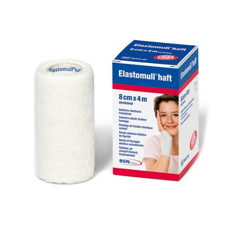 Elastomull® haft, venda elástica cohesiva. Disponible en diferentes tamaños
