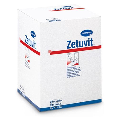 Zetuvit Saugkompressen von Hartmann aus Zweischicht-Vlies