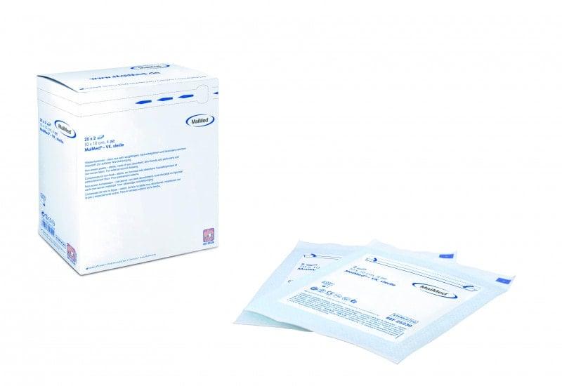 MaiMed-VK sterile Vlieskompressen, erhältlich in verschiedenen Größen