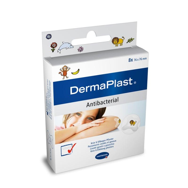 DermaPlast kids antibacterial Wundpflaster mit silberhaltigem Wundkissen