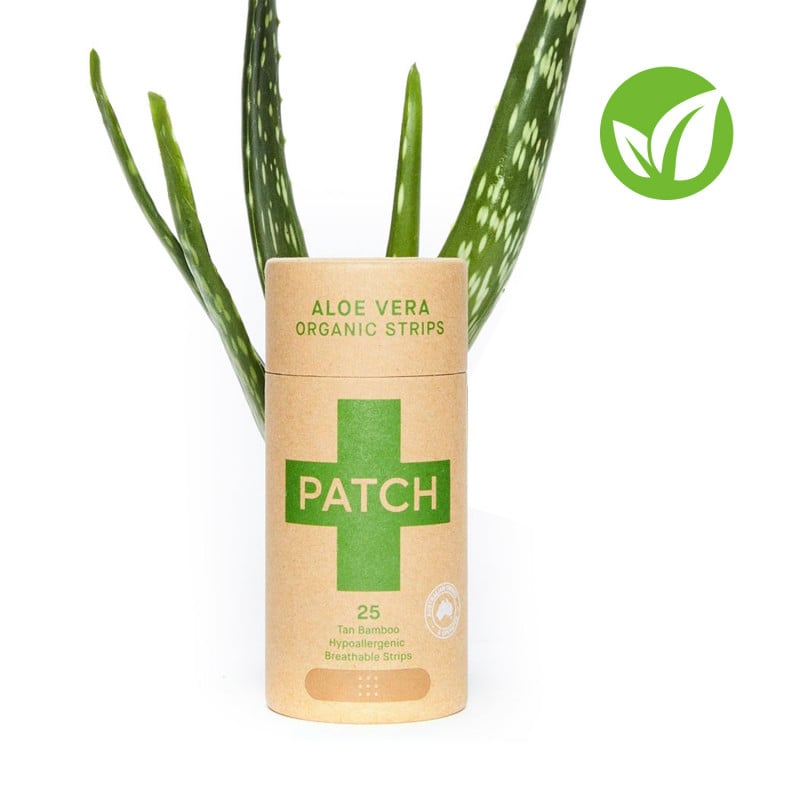 PATCH bamboo plasters with Aloe Vera for burns, blisters and scrapes