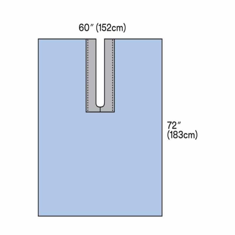 Tissus à fente avec zone adhésive 3M